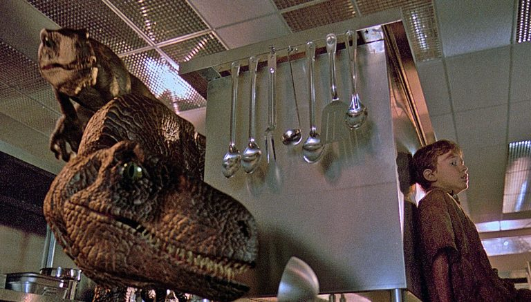 'Jurassic Park' Flashback: Behind-the-Scenes Photos From the 1993