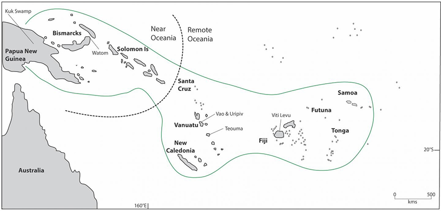 The findings were made from 3,000-year-old skeletons at Teouma, the oldest archaeological cemetery in Remote Oceania, a region that includes Vanuatu and all of the Pacific Islands east and South, including Hawaii, Rapa Nui and Aotearoa. Credit: University of Otago