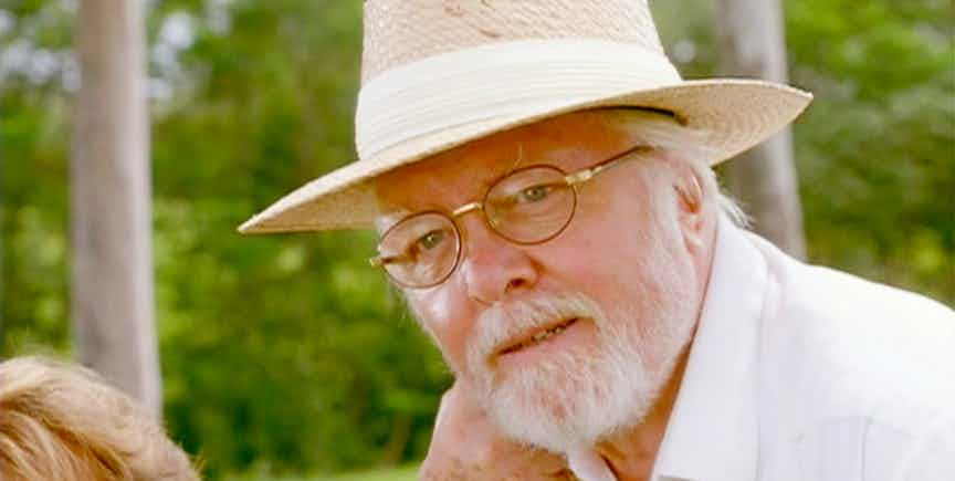 12. RICHARD ATTENBOROUGH (JOHN HAMMOND)