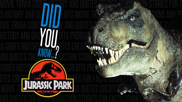 30 Coolest Jurassic Park Facts