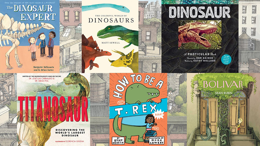 6 Books for Kids About Dinosaurs