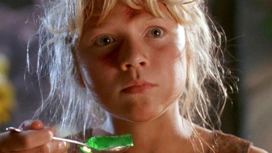 Ariana Richards as Lex Murphy in Jurassic Park