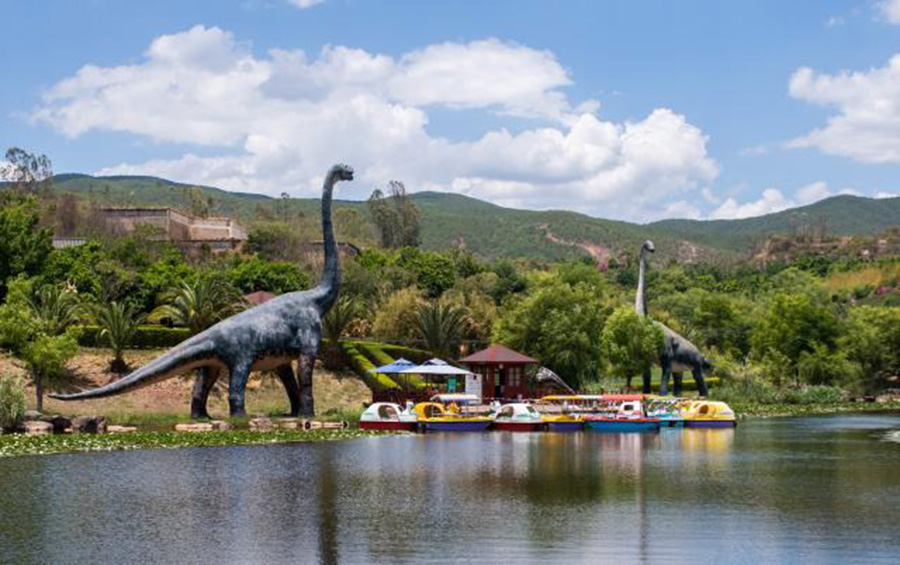China's 'Jurassic Park': Yunnan Bets on Dinosaurs to Power Local Tourism [Photo/Xinhua]