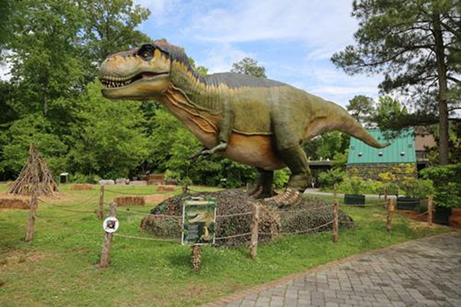 Destination: Dinosaur runs until Sept. 3. (HNNDaily photo/Courtesy of City of Newport News.)