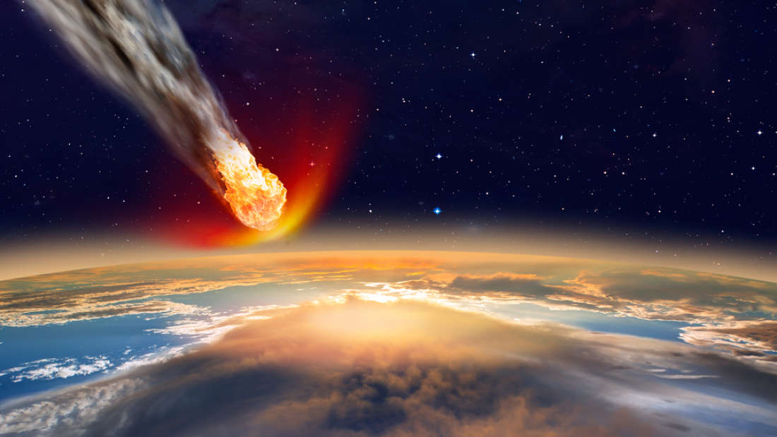 Iridium, a metal associated with the asteroid that ended the Cretaceous era can act like  a stealth bomb, entering the nucleus of a cancer cell. muratart/Shutterstock