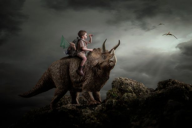 Jason's triceatops portrait won the UK Post Production Image of the Year from the Master Photographer's Association.
