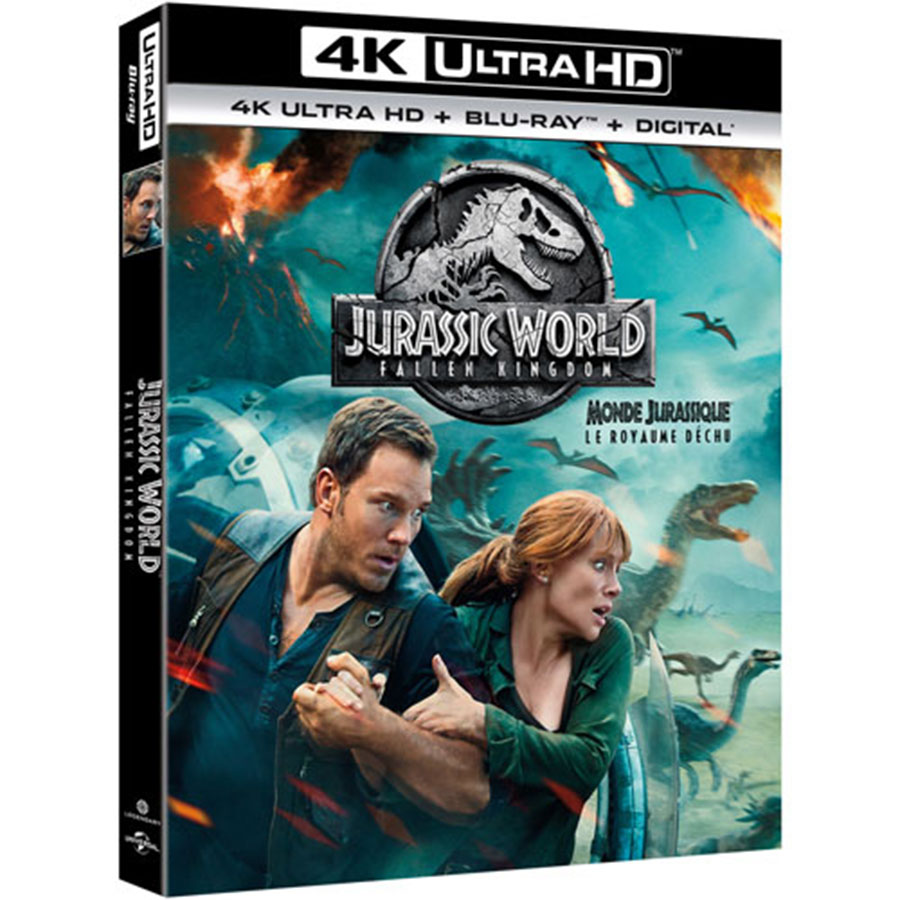 Jurassic World: Fallen Kingdom (2018) 4K UHD