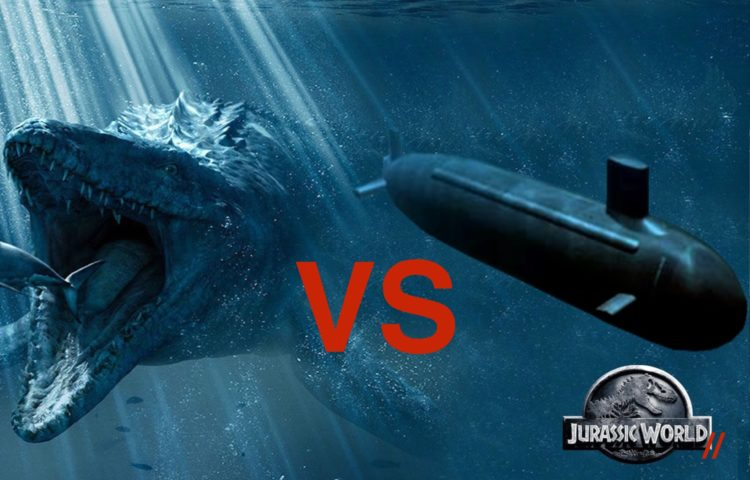 Will Jurassic World 2 Feature a Dinosaur vs Submarine Action Sequence?