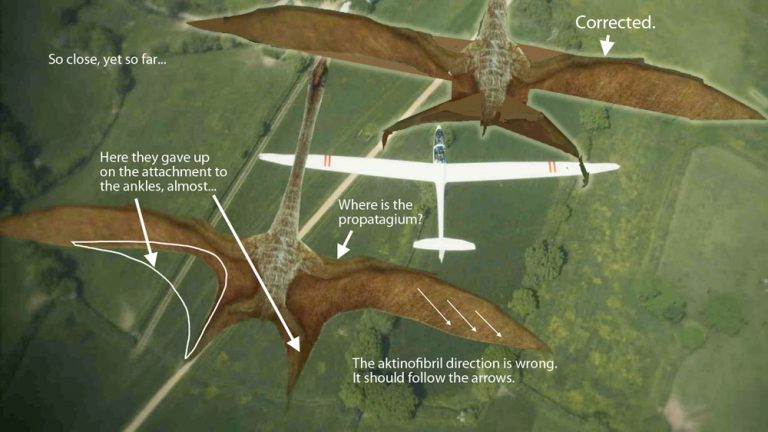 Revised Qiuetzalcoatlus from Flying Monsters 3D with David Attenborough.