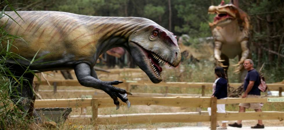 Skeleton and Scares: 120 dinosaur models, 70 species and pure joy in Portugal's dino park