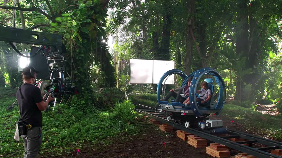 Jurassic World: Gyrosphere (Behind the Scenes)