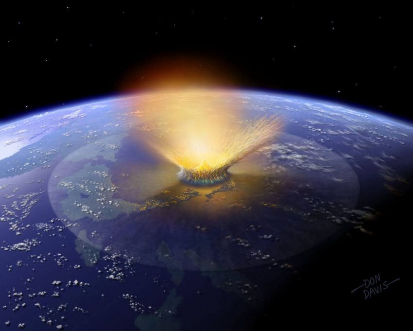 Study Reveals Link between Mass Extinction Events and Comet/Asteroid Showers
