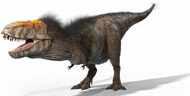 The T. rex actually had freckles and red eyebrows, according to the new documentary
