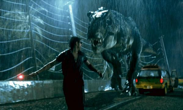 The T. rex has been portrayed differently in popular films such as Jurassic Park
