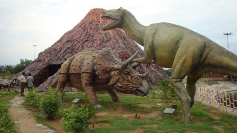 The country's first gallery on robotic dinosaurs was opened to the public in the Pushpa Gujral Science City, Kapurthala on October 27, 2018. (Image: Facebook/PushpaGujralScienceCity)
