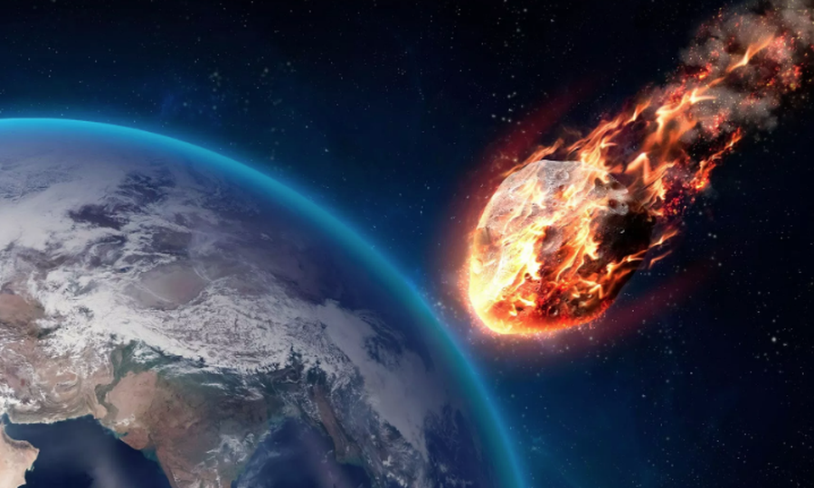 The scientists estimated that at least 325 billion metric tons would have been released in the atmosphere by the impact of the asteroid. This would have reflected the sunlight away from the planet and caused global cooling. Courtesy NASA.