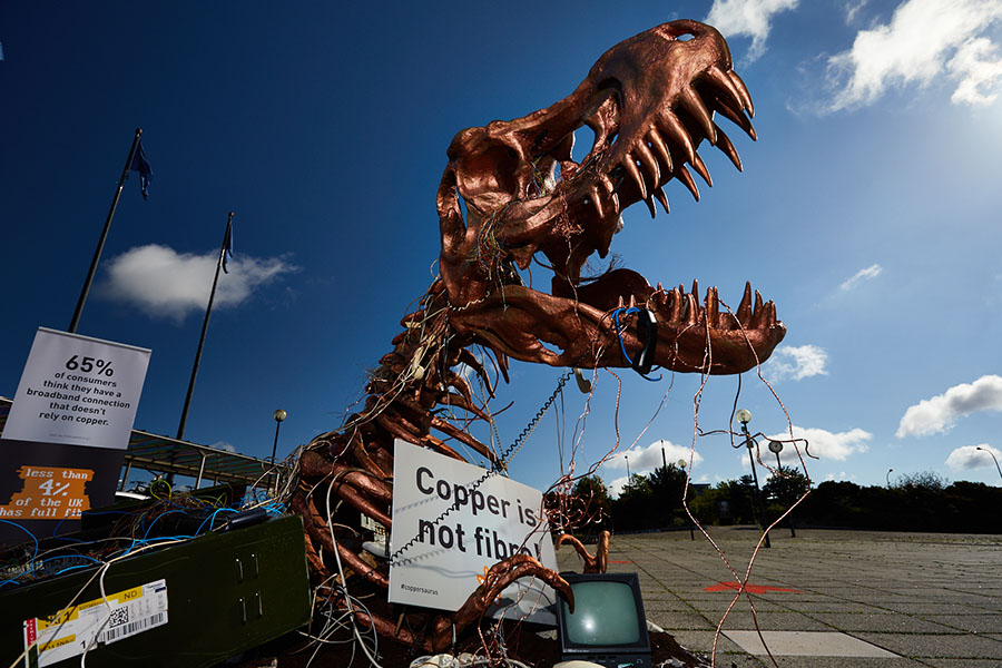 "Welcome to Jurassic nark: Coppersaurus ""unearthed"" as UK grows frustrated with prehistoric broadband"