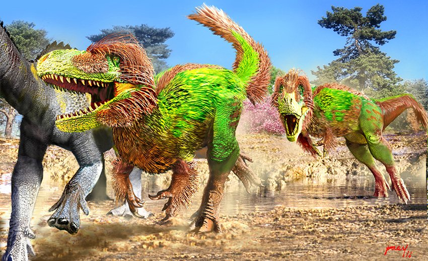 Work by paleoartist Luis V. Rey.