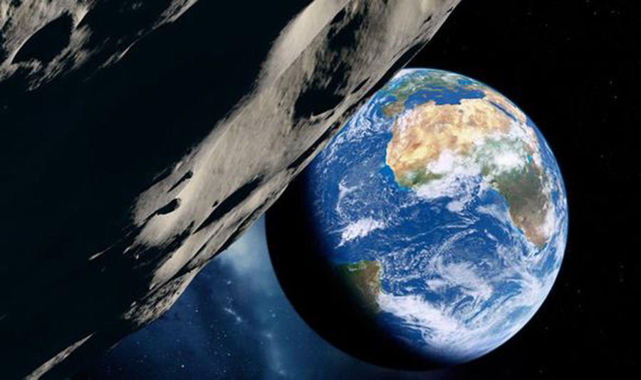 Asteroid warning: Space rock comparable to dinosaur killer is heading Earth's way (Image: GETTY)