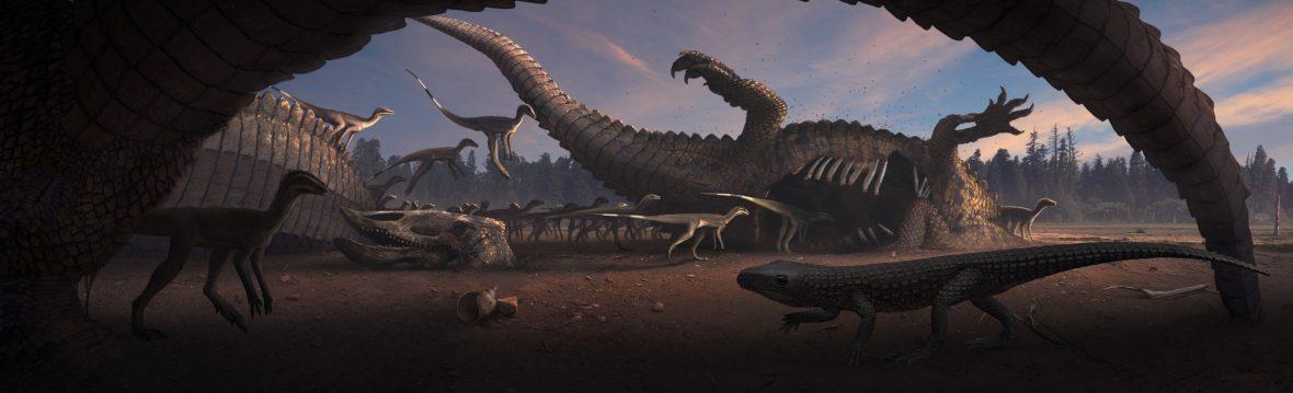 Resultado de imagem para triassic jurassic mass extinction