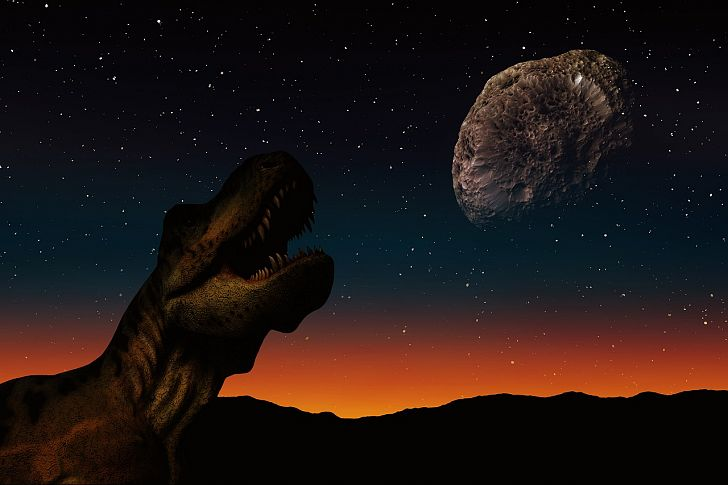 Dinosaurs were not immediately eliminated after the asteroid hit. Image credit: Gerd Altmann from Pixabay