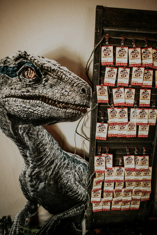 "Guests were issued VIP passes to ""Jurassic Park.""SWNS"
