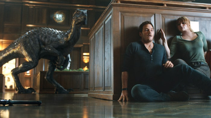 'Jurassic World: Fallen Kingdom' doesn't just waste Chris Pratt, says Peter Travers – this sequel is nothing but a T. Rex-sized cashgrab.
