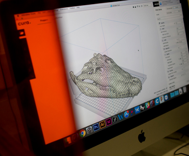 NOW IN 3-D By one estimate 300 specimens from the National Museum, including this ancient crocodile skull, had been previously scanned in 3-D. These digital records could help rebuild the museum's collections.