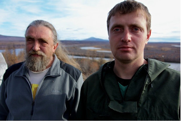 FAMILY: Sergey Zimov (left) and son Nikita are the park's directors. NIKITA ZIMOV