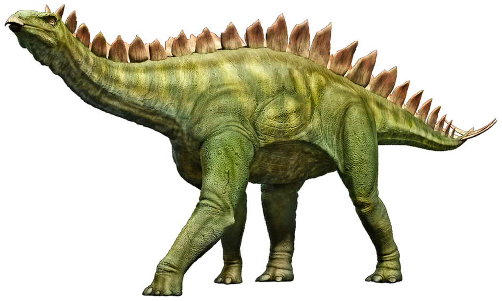 The Stegosaur was an imposing creature, although its back spines were probably not as menacing as you might think. Image credits: Parker West.