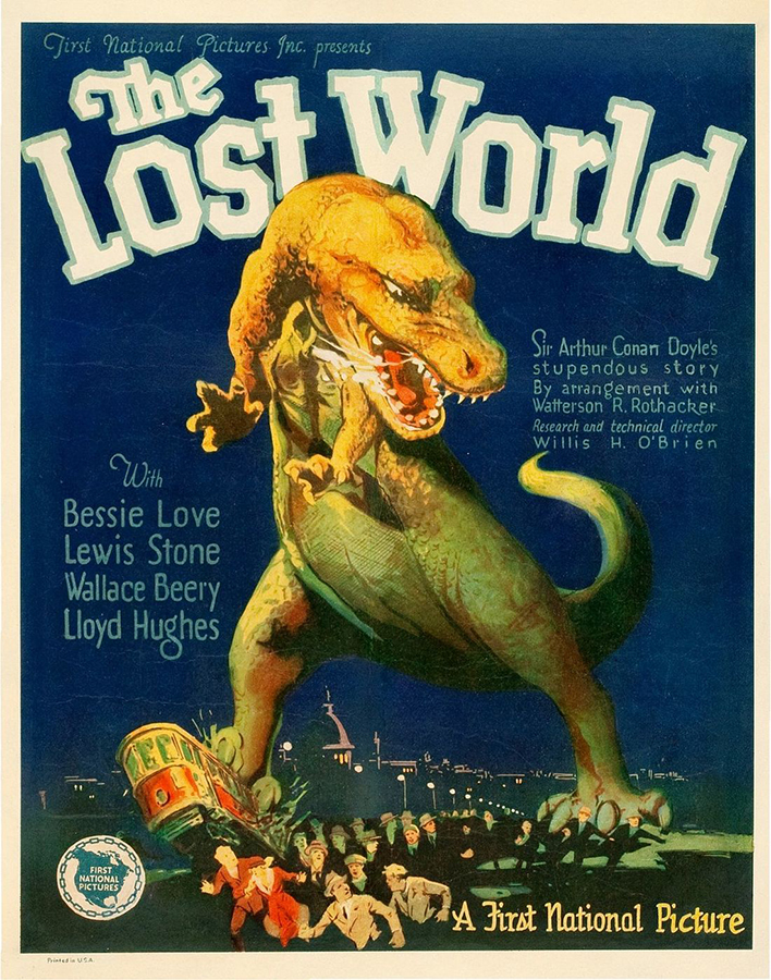 The Lost World 1925 - film poster